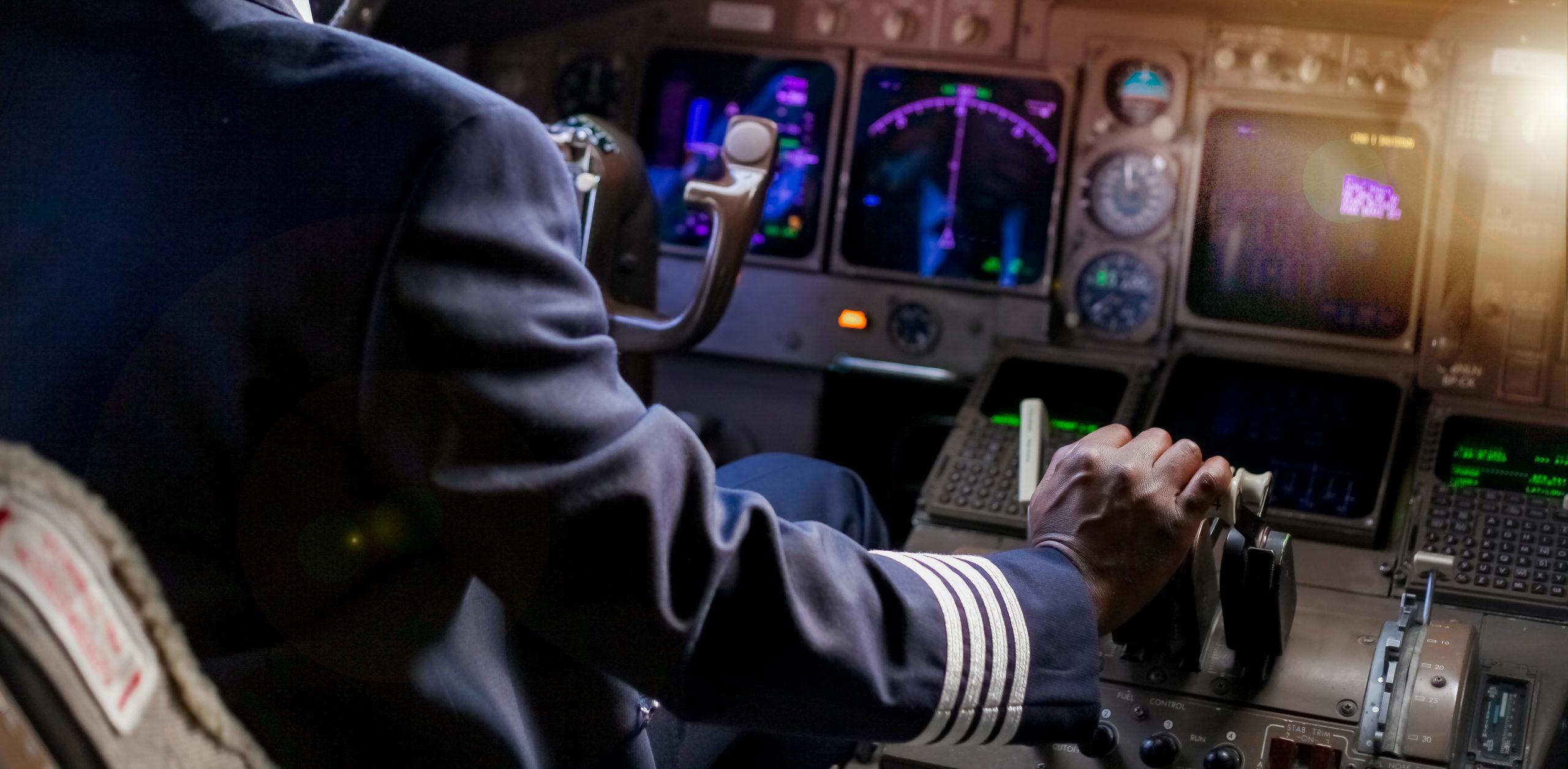 Pilot in 777F