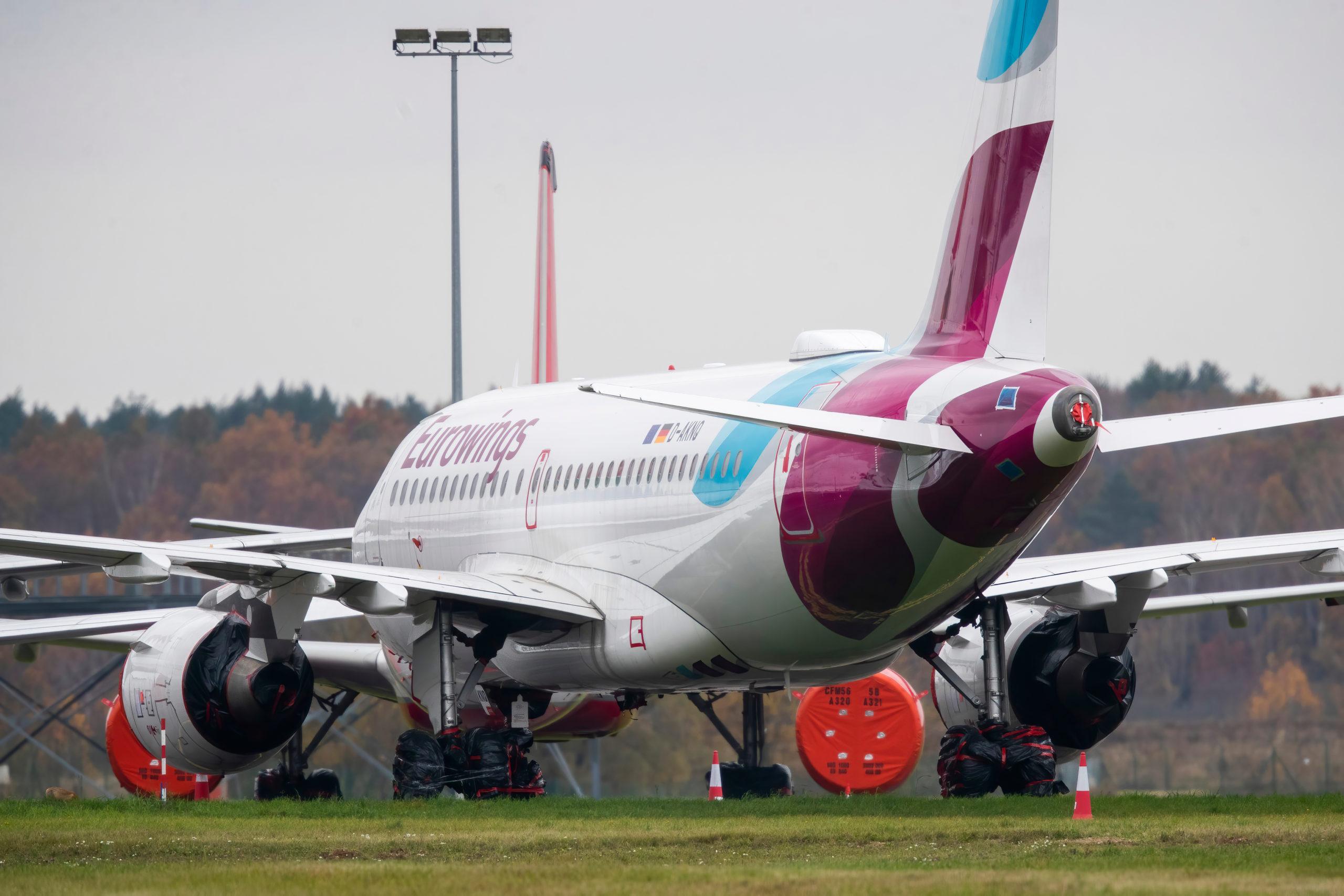 (D-AKNQ) EUROWINGS AIRBUS A319-100
