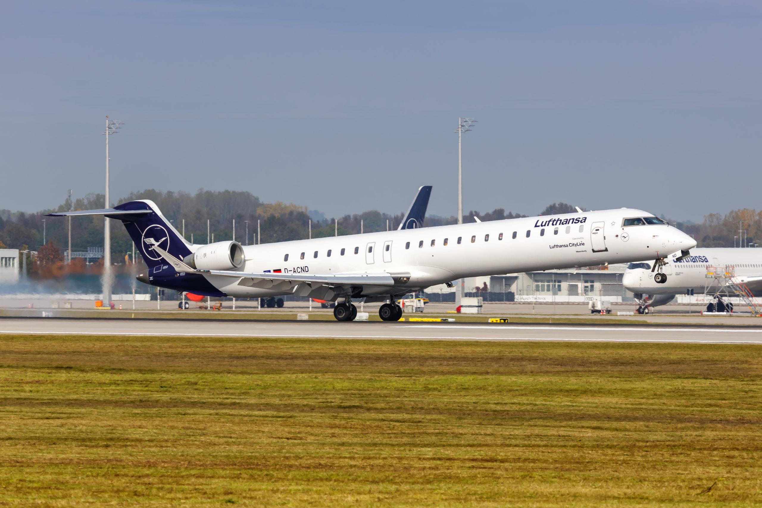 CLH CRJ startet in München